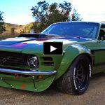 custom built 1970 mustang race car ruffian