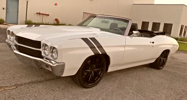 1970 chevy chevelle pro touring build