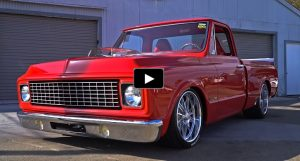 1972 chevy c10 truck sema build