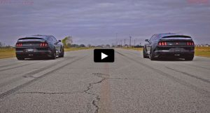 hennessey shelby gt350r roll racing