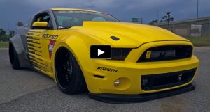 widebody 2013 ford mustang p51 tribute