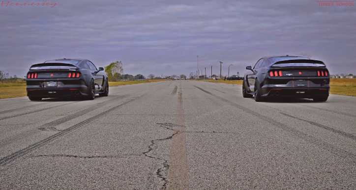modified vs stock mustang gt 350R