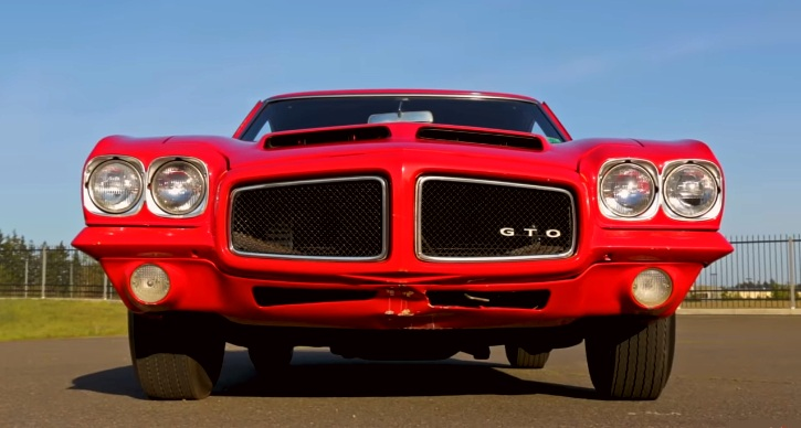 1971 pontiac gto judge 455 ho