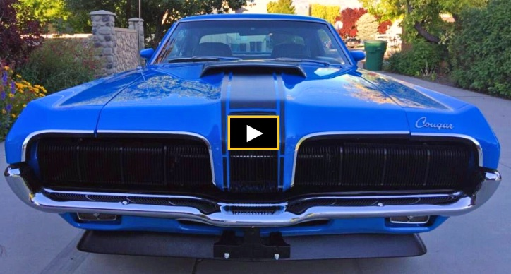 competition blue 1970 mercury cougar eliminator 428 cj