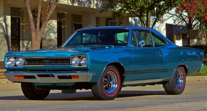 1968 plymouth gtx 440 4-speed video