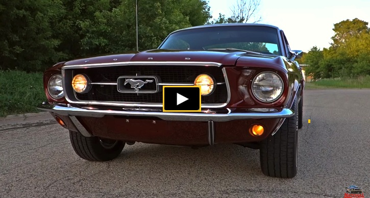 1967 ford mustang 390 4-speed