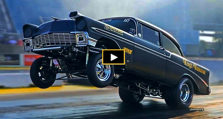 garage squad kings ransom 56 chevy drag racing
