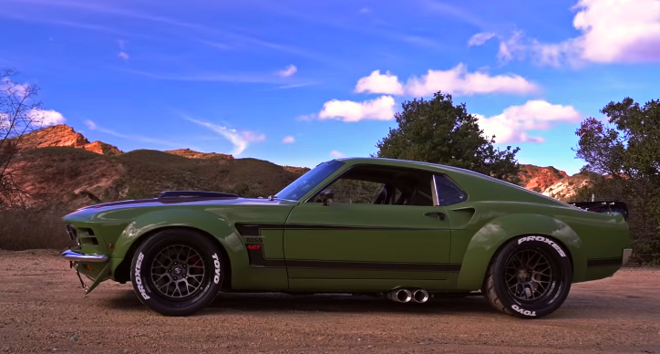 ruffian 1970 ford mustang build