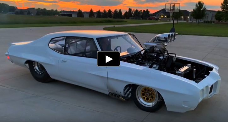 blown 598 chevy big block engine