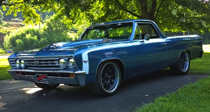 1967 chevy el camino ss build