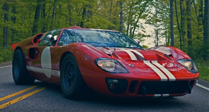 1966 ford gt40 427 continuation car
