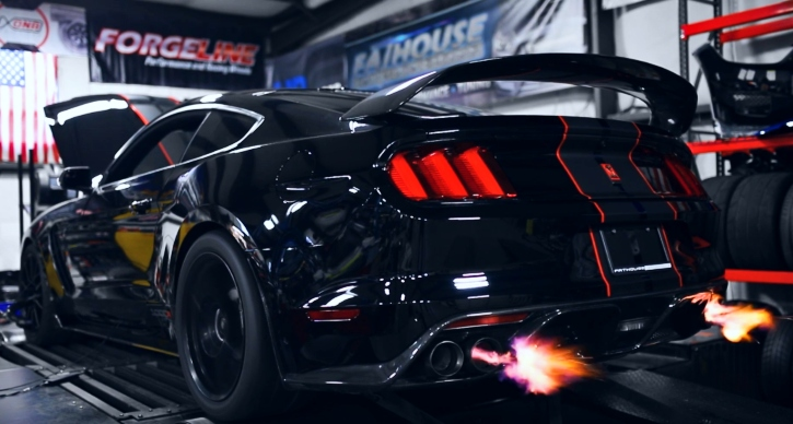 shelby gt350 mustang dyno pull