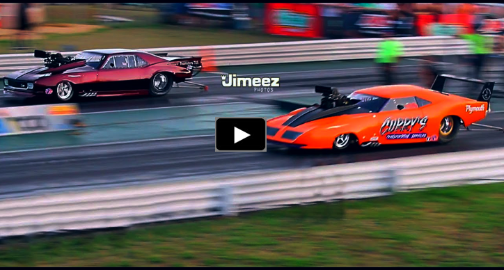 plymouth superbird drag racing