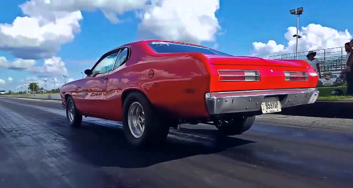 5.9 magnum swapped 1972 plymouth duster