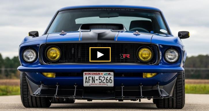 custom 1969 ford mustang jon kaase boss engine
