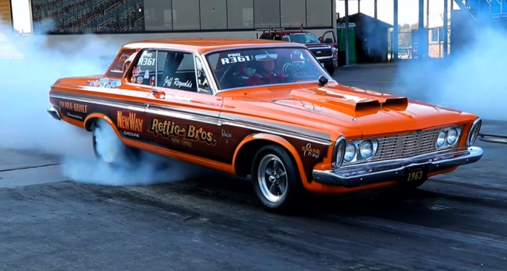 1963 plymouth belvedere 426 max wedge drag racing