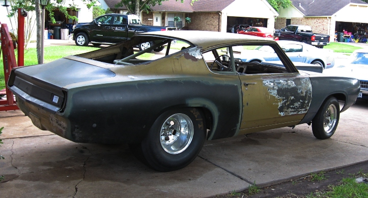 plymouth barracuda nostalgia super stock