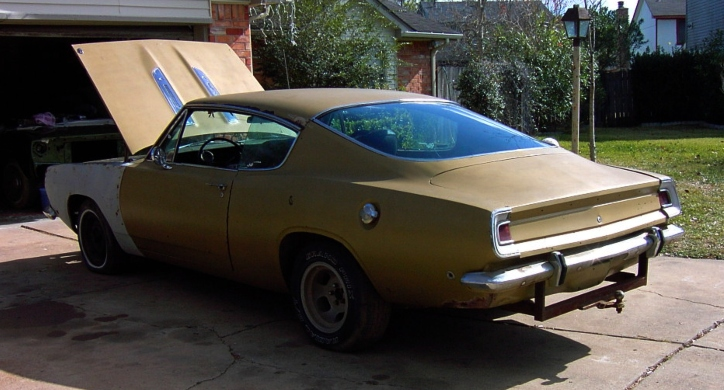plymouth barracuda swamp critter