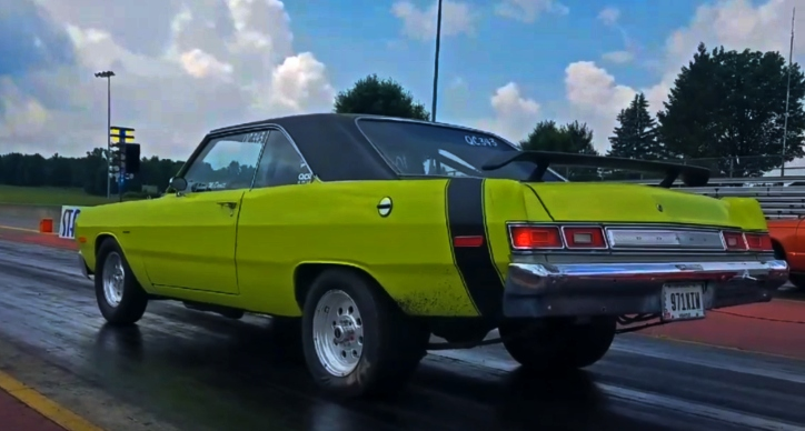 dodge dart swinger 408 stroker drag racing