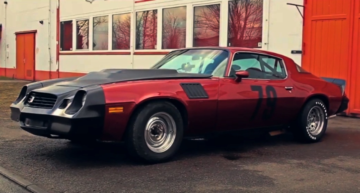 1979 chevrolet camaro 454 build