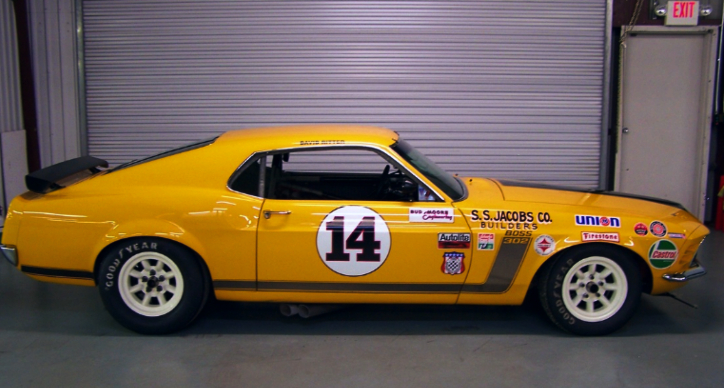 1970 trans am boss 302 mustang restored