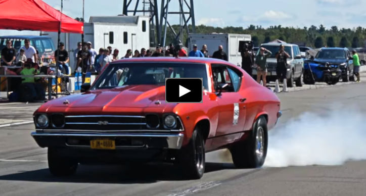 big block chevy chevelle race car