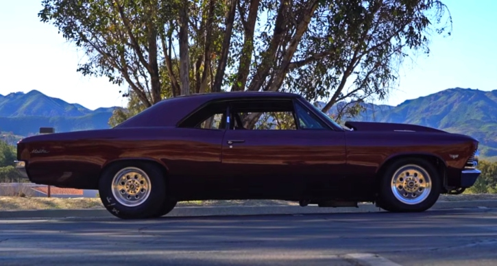 twin turbocharged 1966 chevy chevelle
