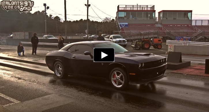 9 second dodge hellcat challenger