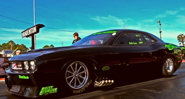 rob goss dodge hemi challenger drag racing