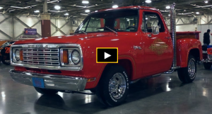 1978 dodge lil red express restoration