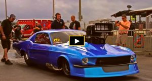 fletcher cox new mustang drag racing