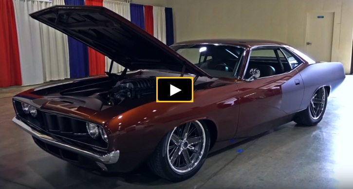 custom built 1971 plymouth cuda hellcat engine