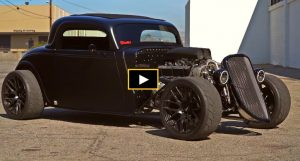 347 stroker powered 33 ford hot rod