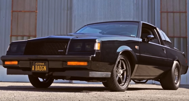 turbocharged 6-cylinder buick grand national