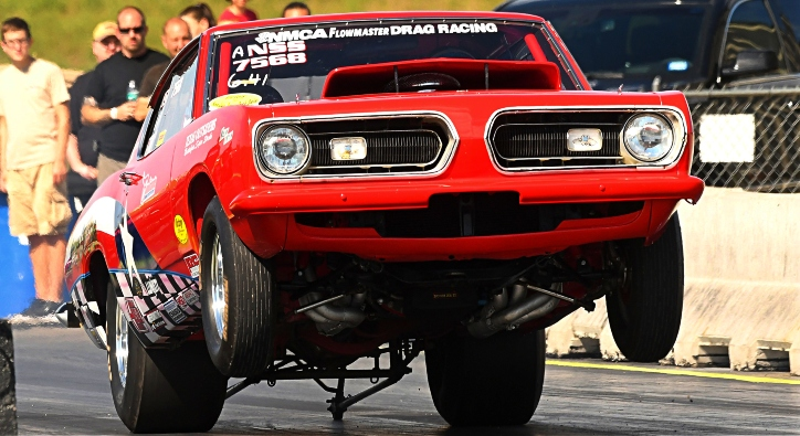 swamp critter plymouth barracuda racing