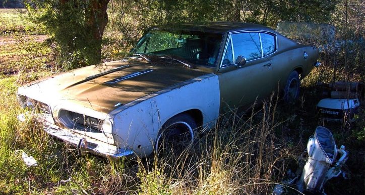 1968 plymouth barracuda swamp critter