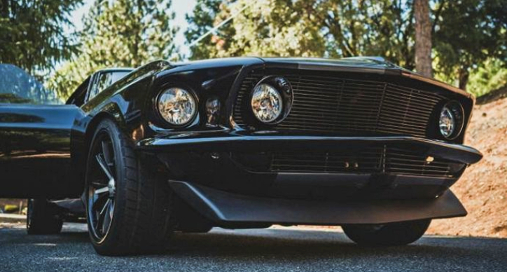 custom built 1969 mustang fastback