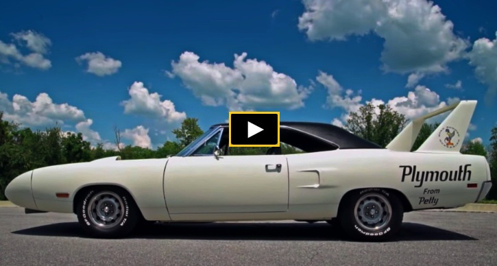 richard petty owned plymouth superbird