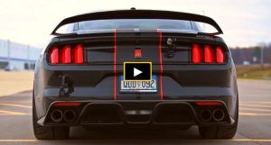 shelby gt350 mustang exhaust sound