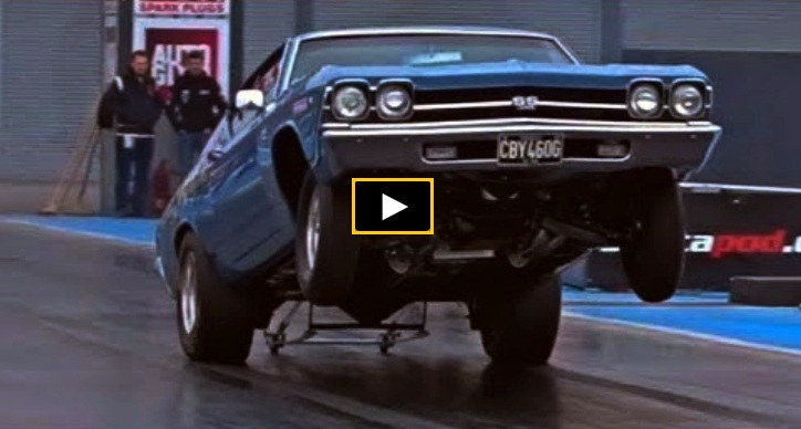 chevy chevelle 454 big block drag racing