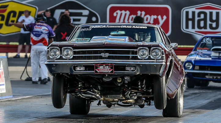 565 big block chevy chevelle racing
