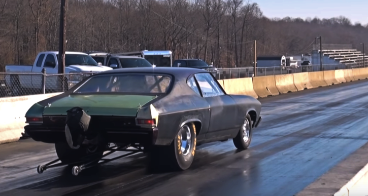 sbc 1968 chevelle drag racing