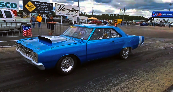 1969 dodge dart 360 drag racing