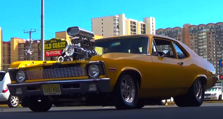 old school chevy muscle cars video