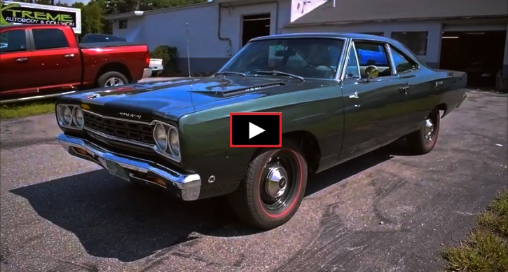 ral plymouth hemi road runner 4-speed restoration
