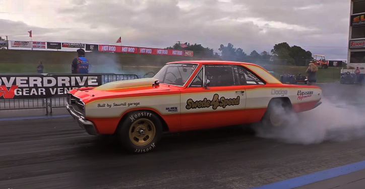 dodge dart r5p7 engine drag week