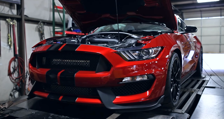 2020 shelby gt350 dyno video