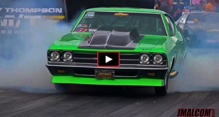 chevy chevelle drag racing lights out 11