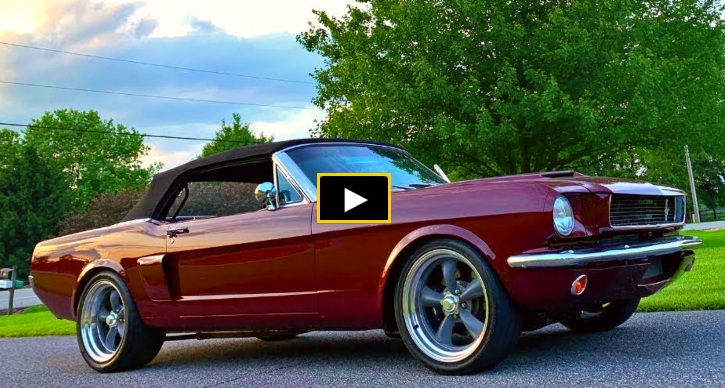 coyote swapped 1966 mustang test drive