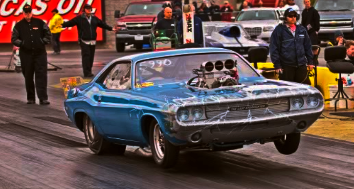 tblown dodge hemi challenger drag racing